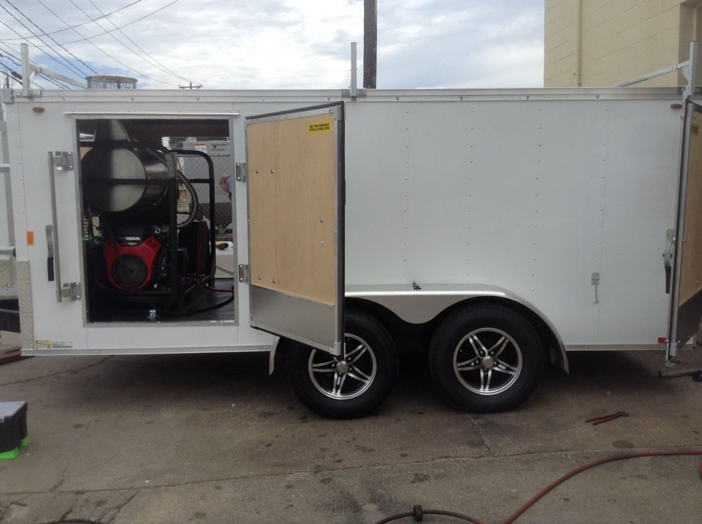 Custom Pressure Washer Trailer