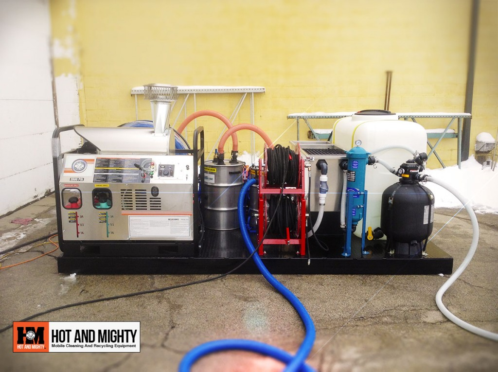 Pressure Washer Wash, Vacuum And Filtration Equipment