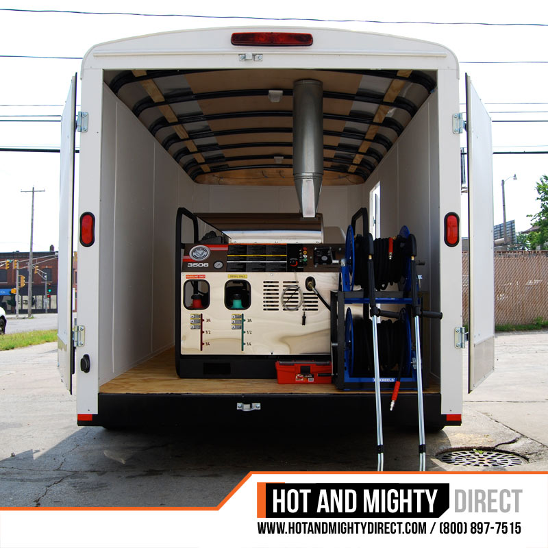 enclosed trailer pressure washer - general series
