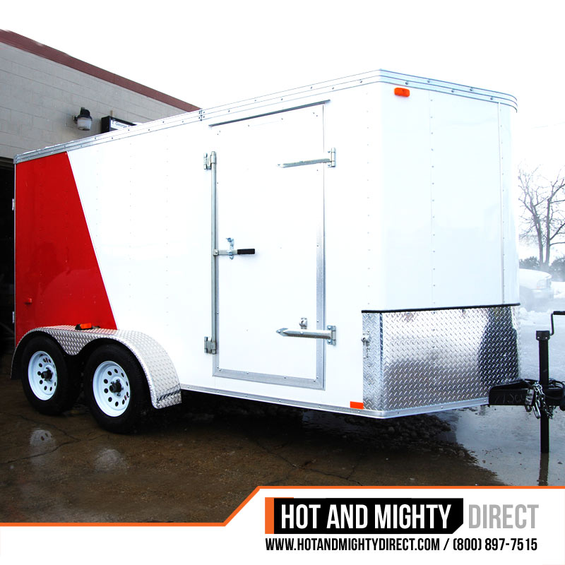 Pressure Washing Equipment : Enclosed pressure washer trailer packages hot and mighty